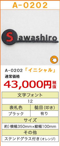 A-0202イニシャル