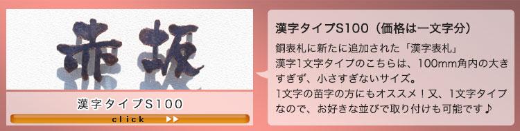 漢字タイプS100