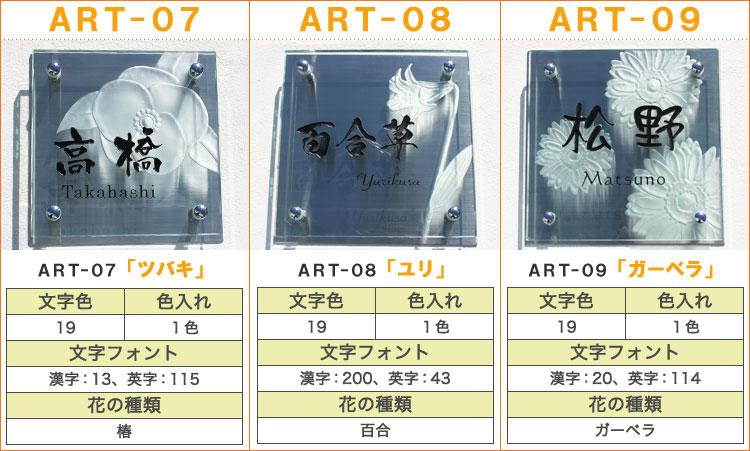 ART表札、アートデザイン