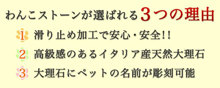 選ばれる3つの理由